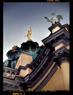 Schloß Charlottenburg, Detail der nördlichen Fassade - © bildraum-f | fotografie