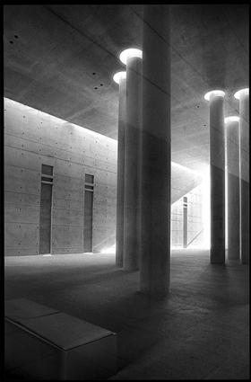 Krematorium Berlin Treptow, Baumschulenweg, Axel Schultes + Charlotte Frank, Deutscher Architekturpreis 2001
