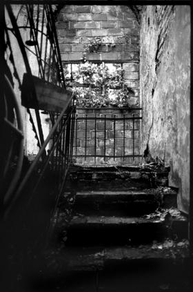 Treppenhaus | Ruine Wisenburg Wedding - © bildraum-f | fotografie