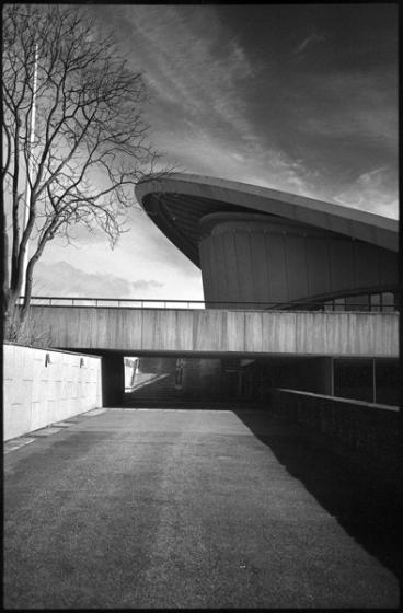 Kongreßzentrum Berlin, Tiergarten. Heute Sitz der Kulturen der Welt. Gebaut 1958, Architekt: Hugh Stubbins