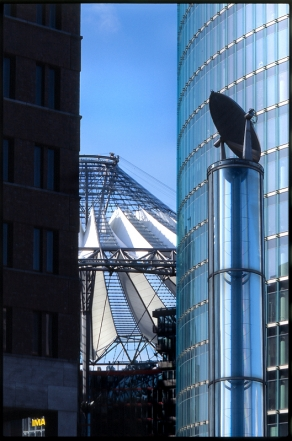 Potsdamer Platz, Sony Center und DB Hauptquartier