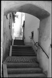 Munderkingen - Aufgang zur Altstadt von der Weitzmannstraße an der Donau - © bildraum-f | fotografie