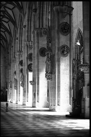 Ulmer Münster, nördliches Seitenschiff - © bildraum-f | fotografie
