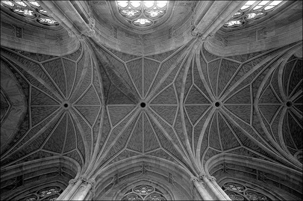 Friedrichswerdersche Kirche, Gewölbe Decke   Karl Friedrich Schinkel - © bildraum-f   fotografie