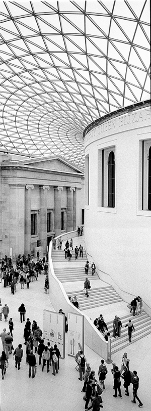 Innenhof des British Museum in London - © bildraum-f | fotografie