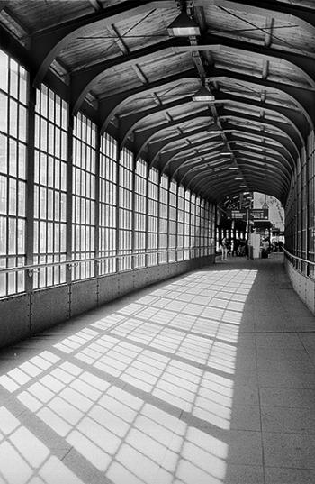 Östlicher Zugang zum S-Bahnhof Friedrichstrasse - © bildraum-f | fotografie