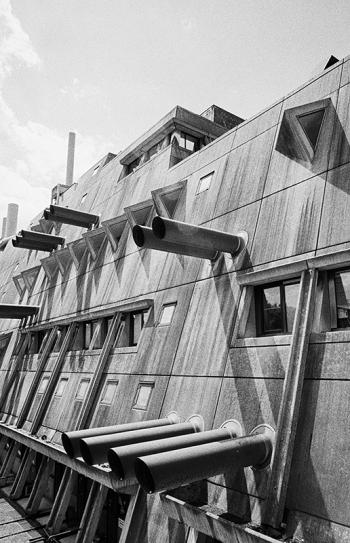 Zentrale Tierlaboratorien der FU Berlin (Mäusebunker) - © bildraum-f | fotografie
