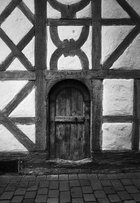 Riedlingen, Alte Holztuer in der Altstadt von 1686- © bildraum-f | fotografie