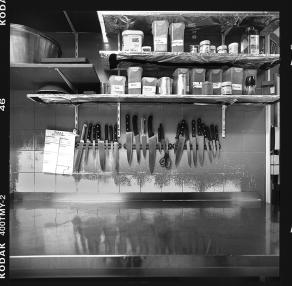Großküche, Arbeitsplatz Club A18, Studentendorf Schlachtensee 01 - © bildraum-f | fotografie