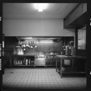Großküche, Arbeitsplatz Club A18, Studentendorf Schlachtensee 02 - © bildraum-f | fotografie