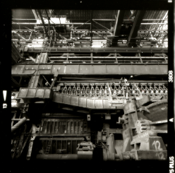 Stahlwerk, Industriemuseum Brandenburg an der Havel, Ansicht des Hauptbrandofen - © bildraum-f   fotografie