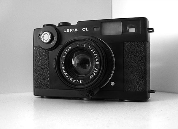LEICA CL mit 40mm f/2 Leitz-Wetzlar Summicron-C