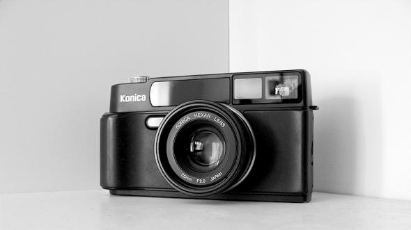 """""""Black"""" Konica Hexar AF, 35mm f/2 - © bildraum-f   fotografie"""