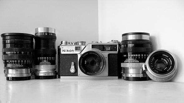 Messucherkamera Nikon SP - © bildraum-f | fotografie