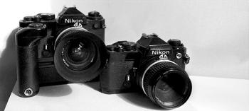 Nikon FE, MD-12, Nikkor 24mm AiS  f /2.8, Nikkor 50mm Ai f/2, Reparaturanleitung - © bildraum-f   fotografie