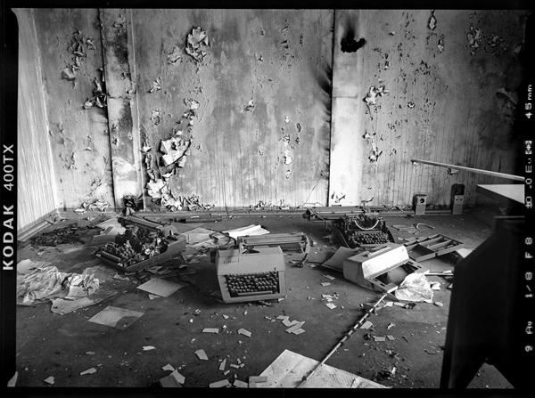 Irakische Botschaft in Pankow, Tschaikowskistrasse 17, Letzte Einrichtungsgegenstände in der Vorbesitzer - © bildraum-f   fotografie