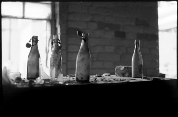 Urban exploration Berlin: Bier- bzw. Flaschenlager, Ruine der Bärenquell Brauerei in Treptow-Niederschöneweide, an der Schnellerstraße - © bildraum-f | fotografie