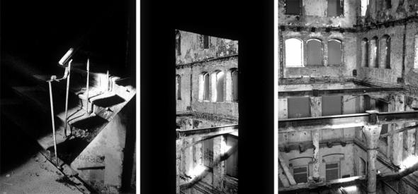 Ruinenkomplex der ehem. Wäscherei und Färberei W. Spindler und später VEB Rewatex in Berlin Köpenick - © bildraum-f   fotografie