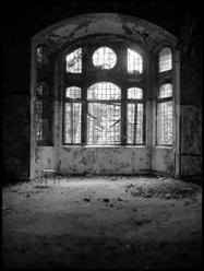 Erker im Gebäude Frauenlungenheilstätte | Lungenheilanstalt Beelitz - © bildraum-f | fotografie