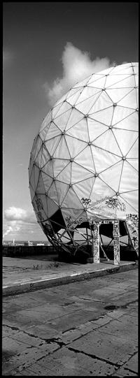 Radardom auf der NSA Field Station Teufelsberg Berlin, Frühjahr 2012 - © bildraum-f | fotografie