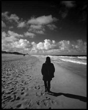 Standing on a beach - Westerland, Sylt 2012 - © bildraum-f | fotografie