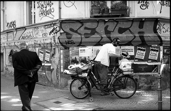 Denkanschlag in Kreuzberg