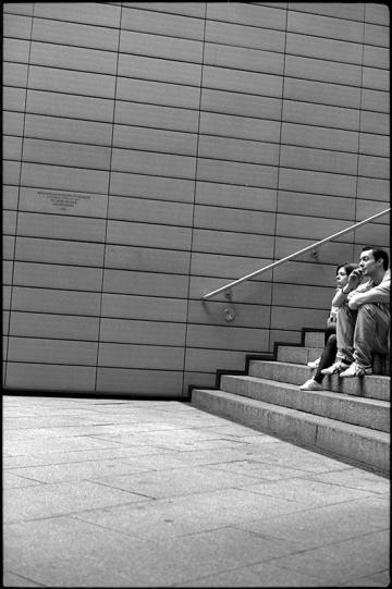 Touristische Randerscheinung am Potsdamer Platz - (c) bildraum-f   fotografie