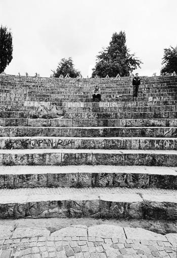 Ränge des Amphitheaters im Mauerpark - © bildraum-f | fotografie
