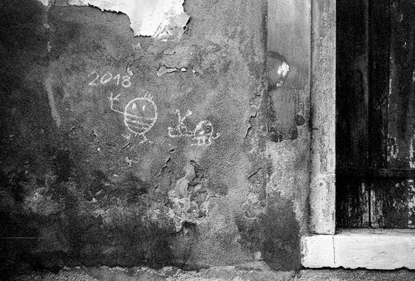 ōtsugomori - Kreide Graffiti - © bildraum-f | fotografie