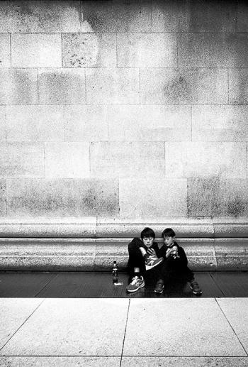 mauerkinder, sunday at the british museum, london - © bildraum-f   fotografie