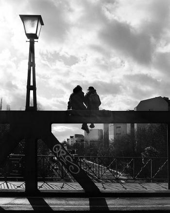 Brückentage - Frühling in Schöneberg, Langenscheidbrücke Berlin, - © bildraum-f   fotografie