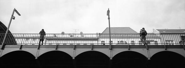 Einsamkeit der Großstadt, Görlitzer Bahnhof, Kreuzberg  - © bildraum-f   fotografie