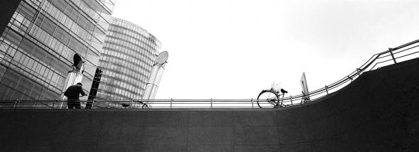 Berlin Babylon   Himmel über dem Potsdamer Platz